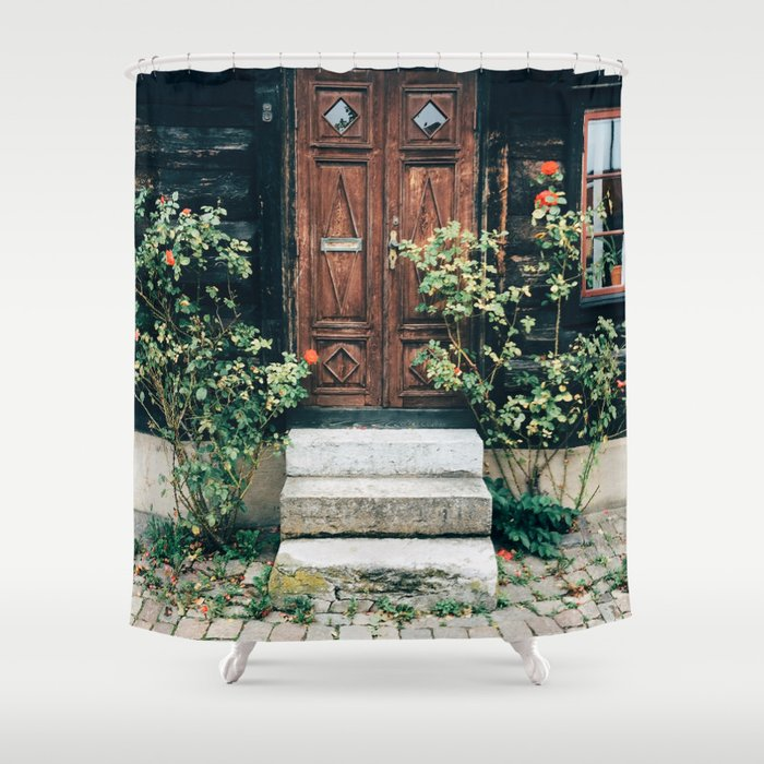 Visby Shower Curtain