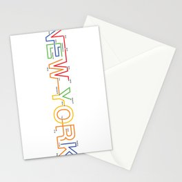 Subway NY Stationery Cards