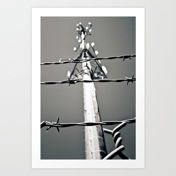 Communication and control Art Print