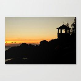 Christmas Cove  Canvas Print