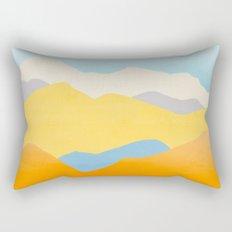 Happy Mountains Rectangular Pillow