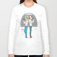 pewdiepie Long Sleeve T-shirts featuring Broday Everyday by SofusGirl