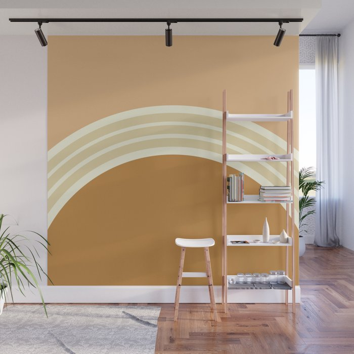 one day –earthen clay layers 2 Wall Mural