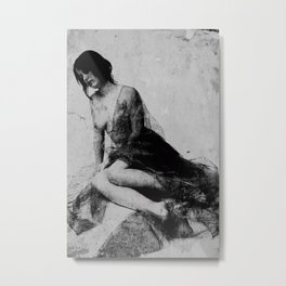 Wounded soul Metal Print