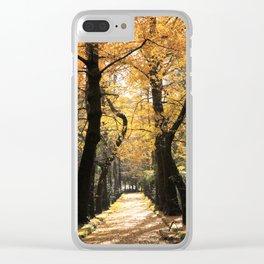 Ginkgo biloba trees Clear iPhone Case