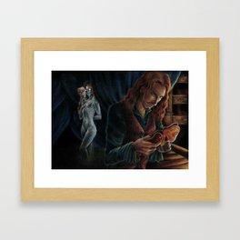 She's Not There Framed Art Print
