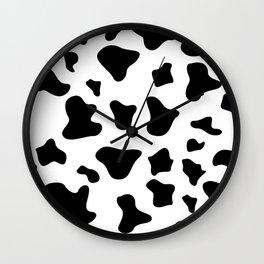 Animal Print Pattern – Dalmatian Wall Clock