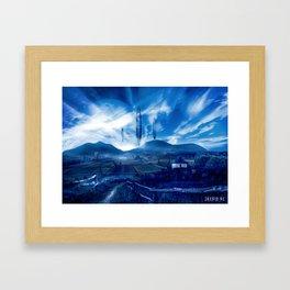 Poster - Different worlds Framed Art Print