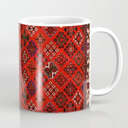 -A30- Red Epic Traditional Moroccan Carpet Design. Coffee Mug