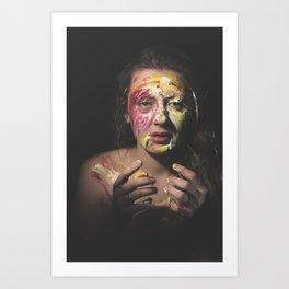 Colors of Women, A.F. Art Print