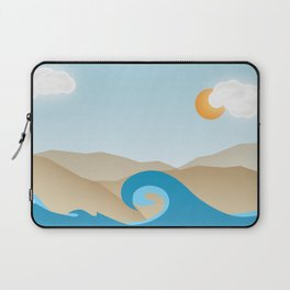 Beach Paradox Laptop Sleeve