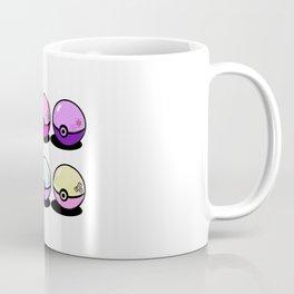 Pokeballs make Friendships Coffee Mug