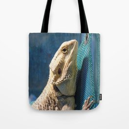Lemmy the bearded dragon. Tote Bag
