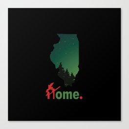 Rockford Proud Canvas Print