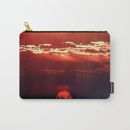 Burning Southern Setting Sun Carry-All Pouch