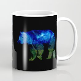 Grizzly in the Shadows Coffee Mug