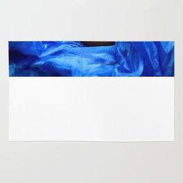 Colour: blue Rug