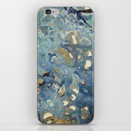 Intergalactic Fantasy - Mixed Media Painting - Abstract Art iPhone Skin