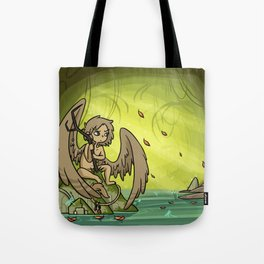 """SH - Soot """"Forest Warden"""" Tote Bag"""