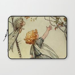 """Bother the Wind"" by Duncan Carse Laptop Sleeve"