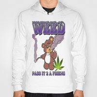 cannabis Hoodies featuring TIMOTHY THE CANNABIS BEAR  by Timmy Ghee CBP