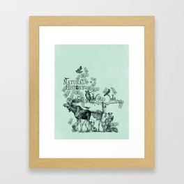 Natural History Framed Art Print