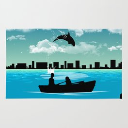 Whaleing Rug