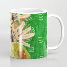 Chartreuse Vase drawing by Amanda Laurel Atkins Coffee Mug