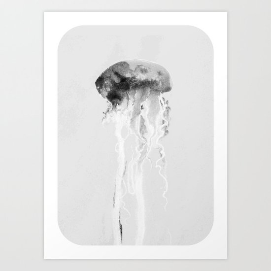 Jellyfish #2 Art Print