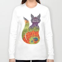 wonderland Long Sleeve T-shirts featuring Wonderland by Heather Searles