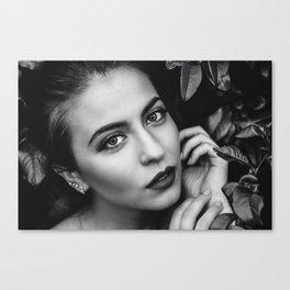 Blacknwhite Canvas Print