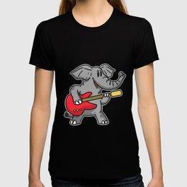 Guitar elephant T-shirt