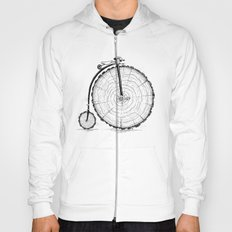 wooden bicycle Hoody