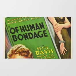 Vintage poster - Of Human Bondage Rug
