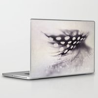 feather Laptop & iPad Skins featuring feather by Ingrid Beddoes photography