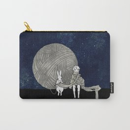 long scarf (moon) Carry-All Pouch