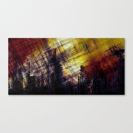 Burning Cities Canvas Print