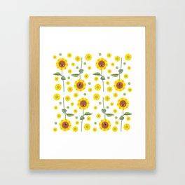 """""""Emo Girasol"""" Framed Art Print"""
