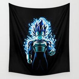 Ultra Blue God Wall Tapestry