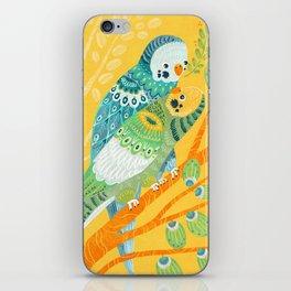 Parakeet Pals iPhone Skin