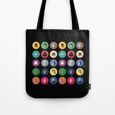 Force Awakens Flat Design Set Tote Bag