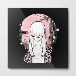 invisible girl Metal Print