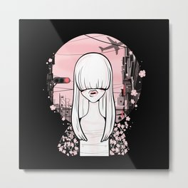 invisible girl Metal Print