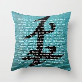 Julian Atticus Blackthorn Throw Pillow
