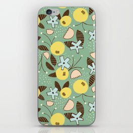 Sexy & Free Floral iPhone Skin