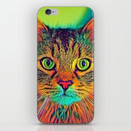 AnimalColor_Cat_ 011_by_JAMColors iPhone Skin