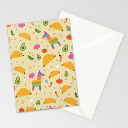 Taco Fiesta Stationery Cards