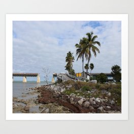 Pigeon Key Island Art Print