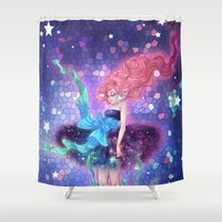 prism Shower Curtains featuring Prism by Roots-Love