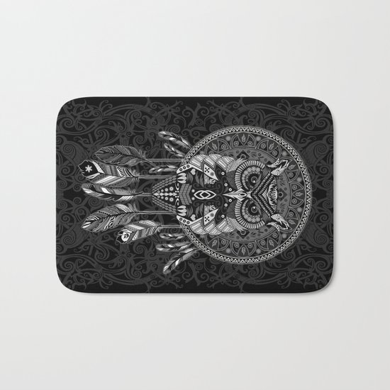 Indian Native OwL Dream Catcher iPhone 4 4s 5 5s 5c, ipod, ipad, pillow case and tshirt Bath Mat